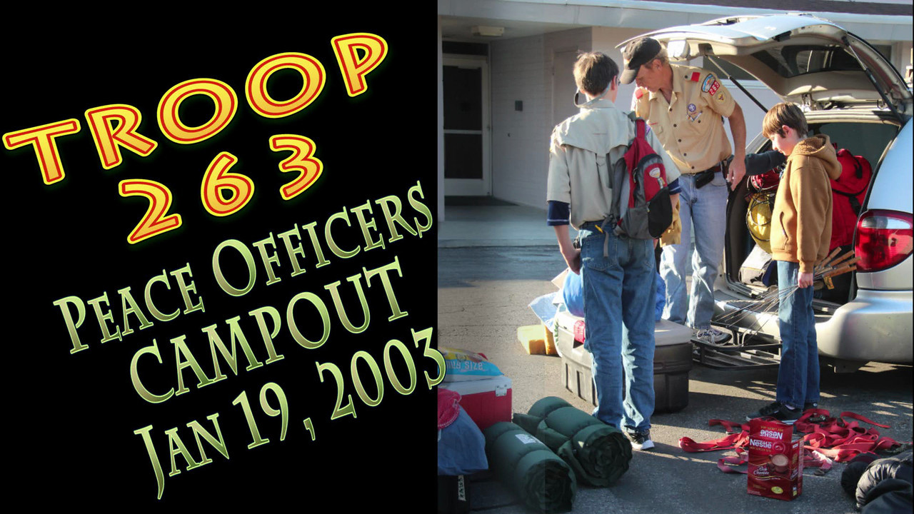 2013-10-13 Court of Honor Campout Video
